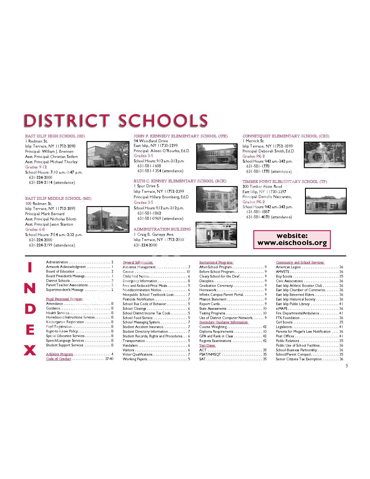 2016 - 2017 District Calendar | East Islip Union Free School throughout East Islip School District Calendar