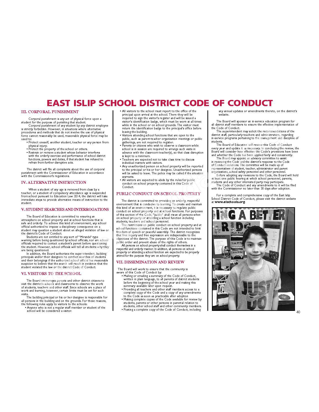 2016 – 2017 District Calendar | East Islip Union Free School With Regard To East Islip School District Calendar