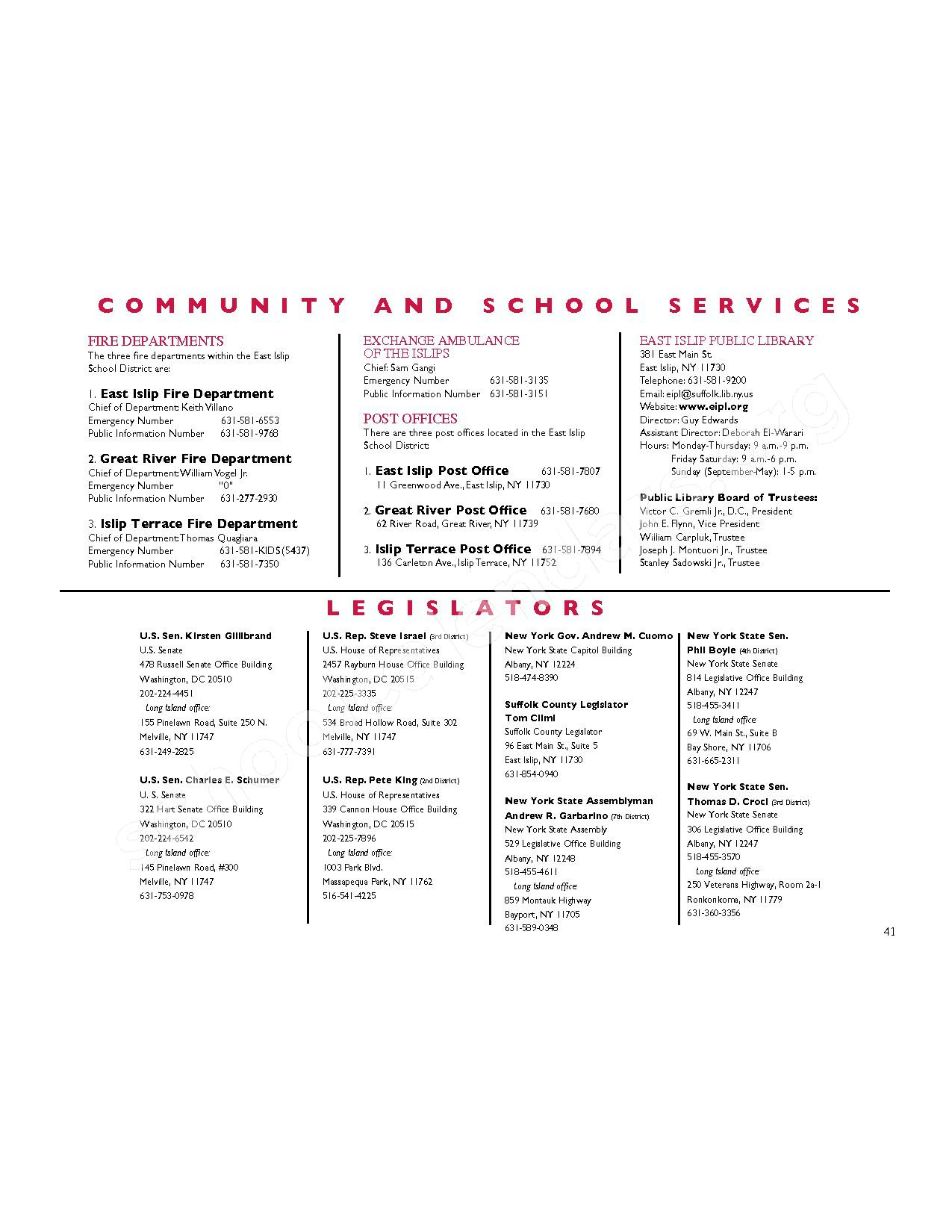 2016 - 2017 District Calendar   East Islip Union Free School Within East Islip School District Calendar