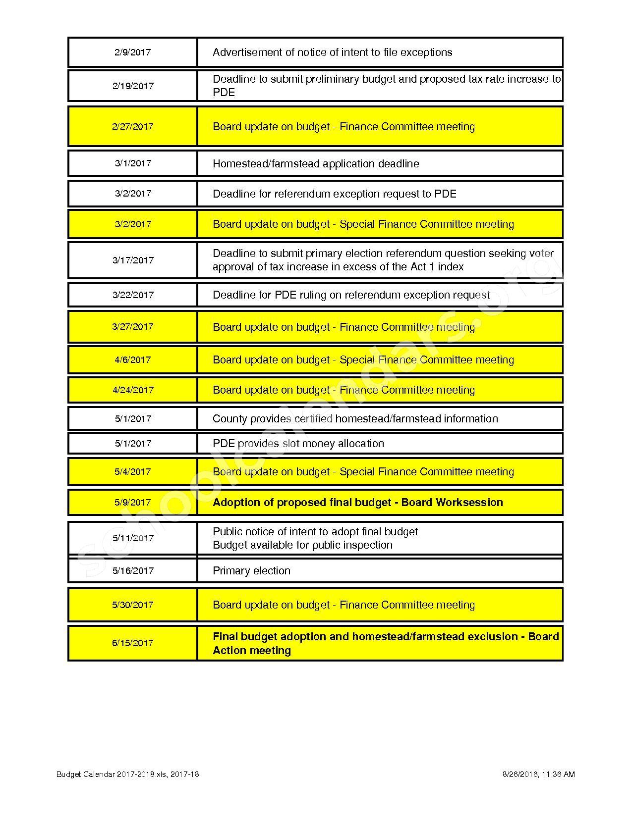 2017 - 2018 School Calendar | North Penn School District Within North Penn High School Calendar