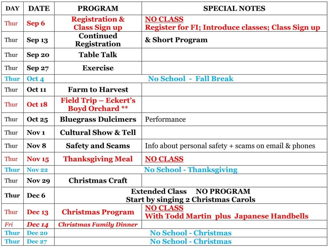 2018 2019 Schedule In Fayette School Academic Calendar Lexington Ky