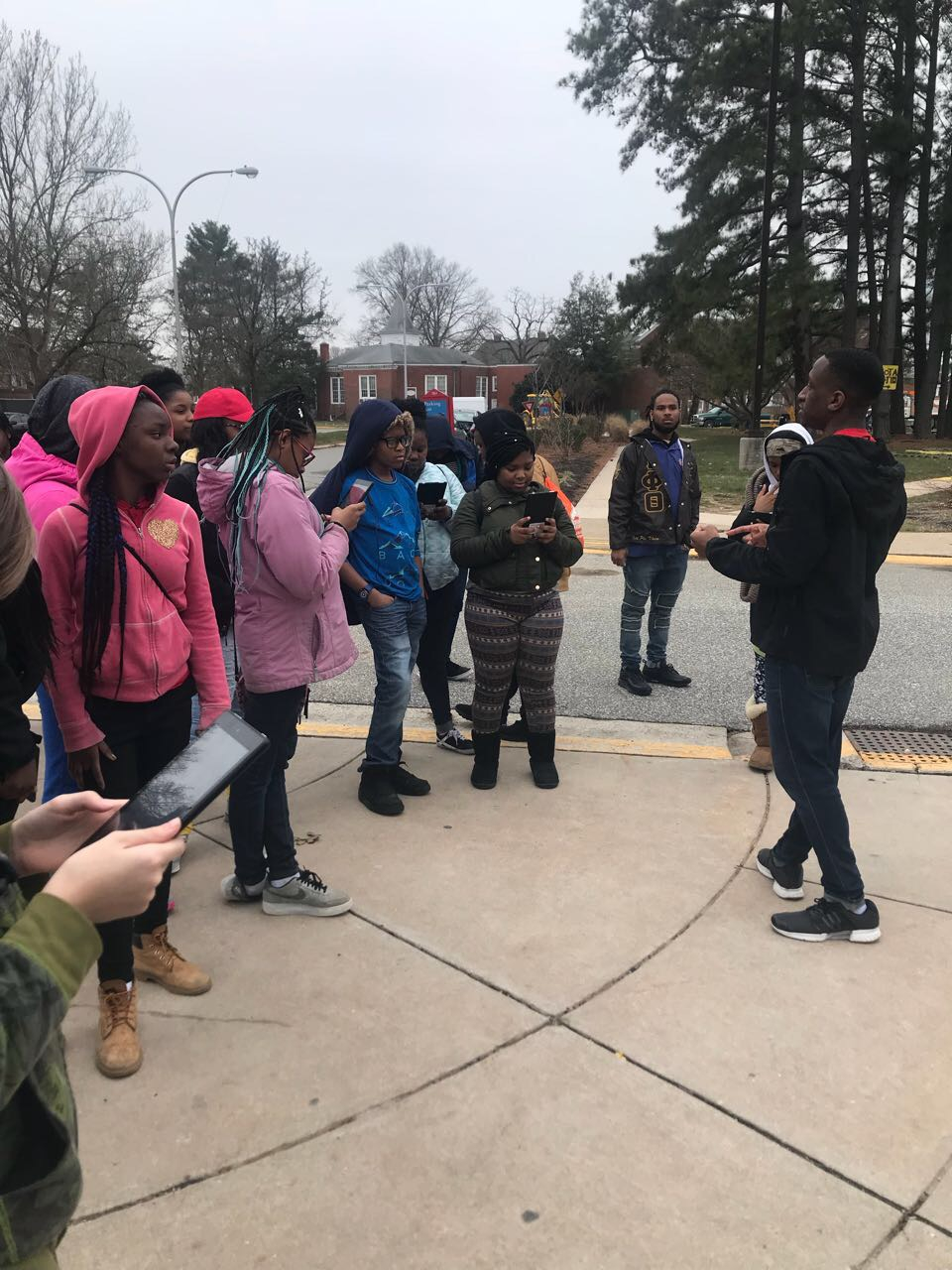 2018 College Tour With Morgan State University Spring Break