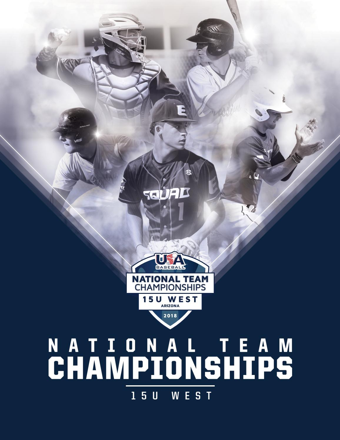 2018 National Team Championships Program - 15U Westusa Inside Las Cruces School Calendar 2021 20