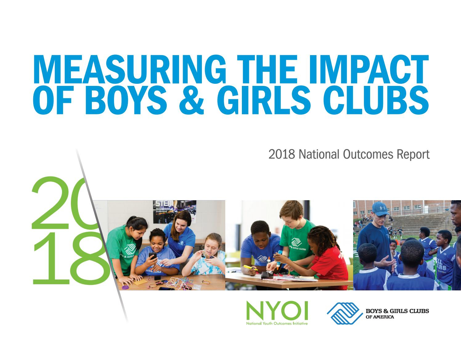 2018 National Youth Outcomes Reportboys & Girls Clubs Of Regarding Boys And Girls Club Sprin Break Cola Sc