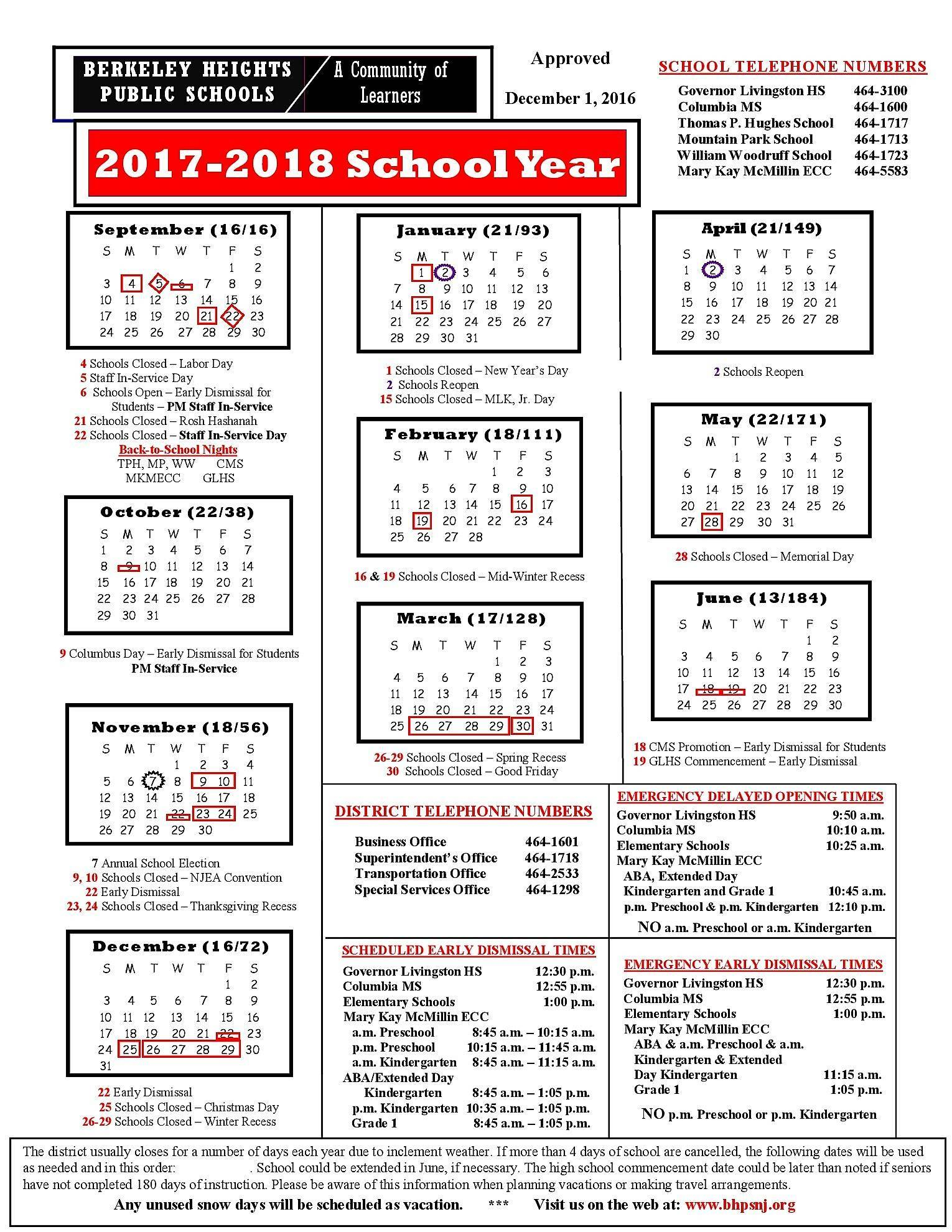 2018 – Page 91 – 2019 New Year Images With Regard To New Brunswick Public Schools Calendar