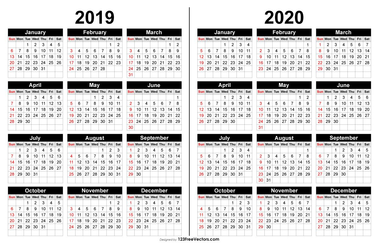 2019 And 2020 Calendar Printable | Calendar Printables, 2021 Intended For Fall Tv Line Up 2021 2020 Printable