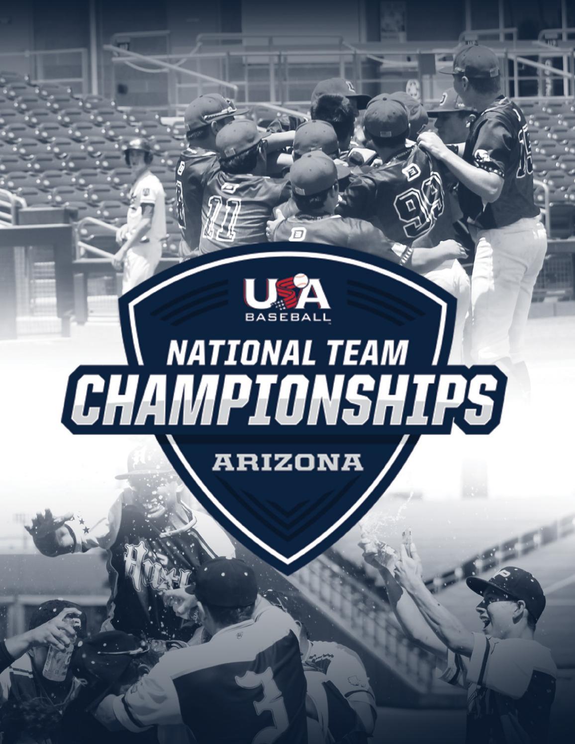 2019 Usa Baseball National Team Championships (Arizona Within Chula Vista High School District Calendar 2021 20
