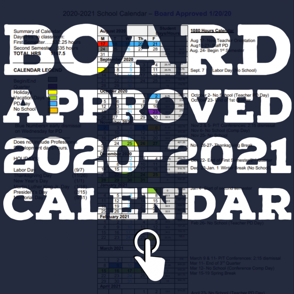 2020 2021 Board Approved Calendar | Woodward Granger In Ogden City School Calendar 2021