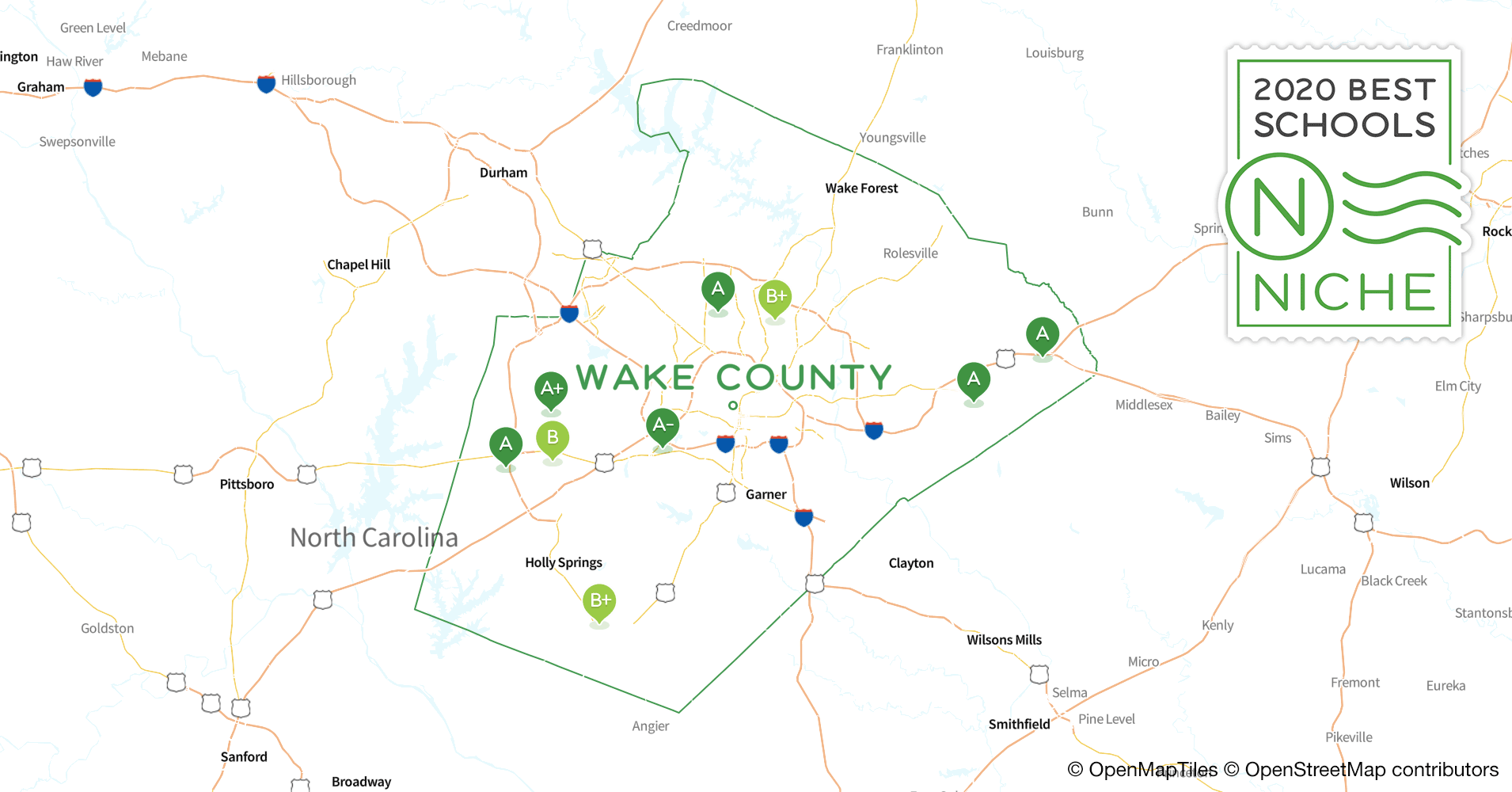 2020 Best Public Elementary Schools In Wake County, Nc – Niche Regarding List Of Year Round School In Wake County