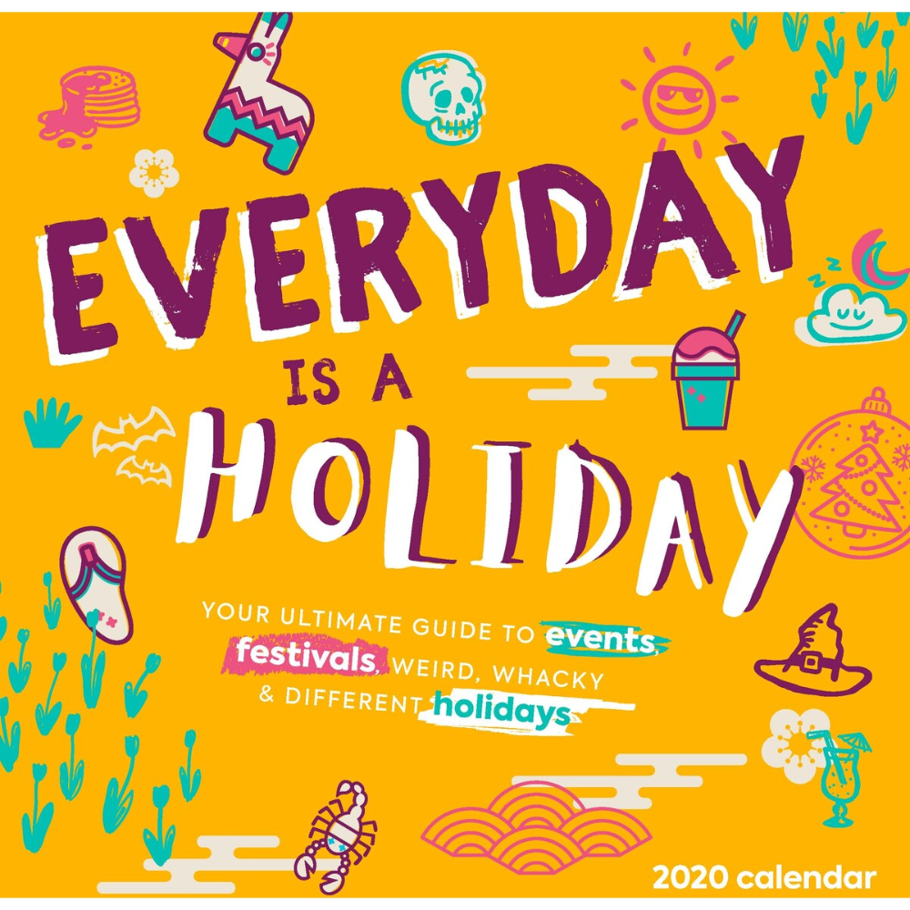 2020 Every Days A Holiday Wall Calendar Clubcomercio.br Regarding Everydays A Holiday Calendar