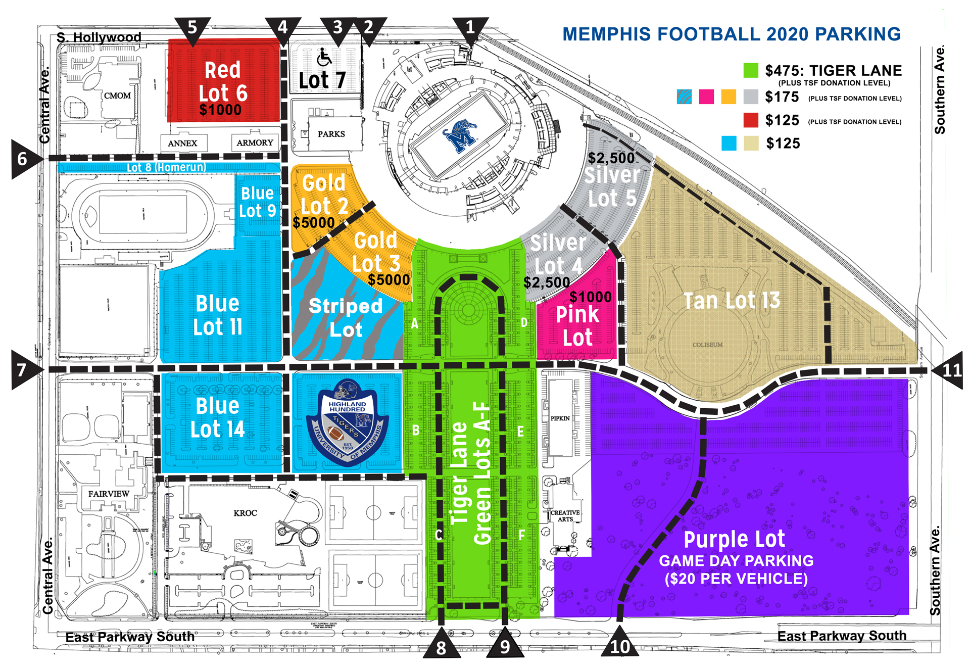 2020 Football Tickets – University Of Memphis Athletics Throughout University Of Memphis Academic Calendar