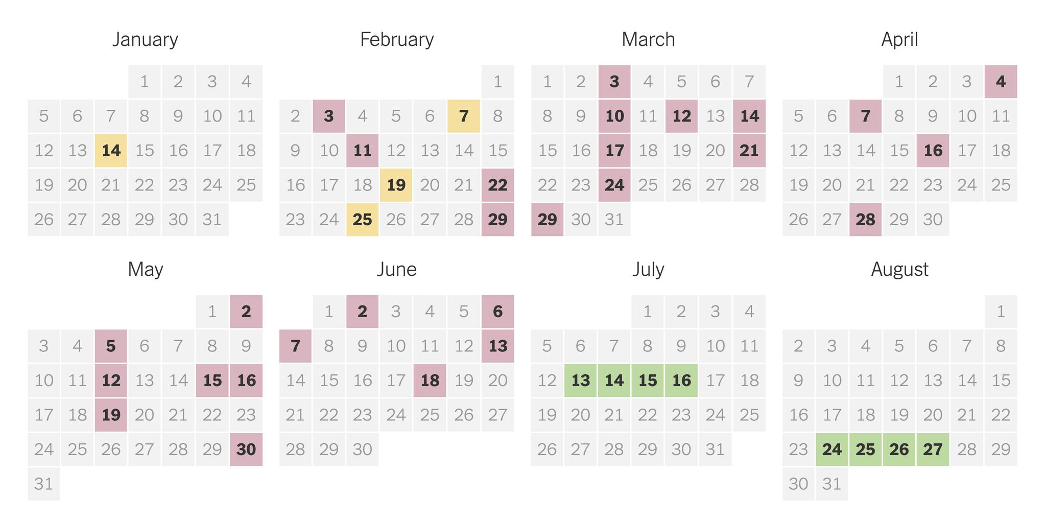 2020 Presidential Primary Election Calendar - The New York Times Regarding University Of Rhosde Island Calendar 20 21