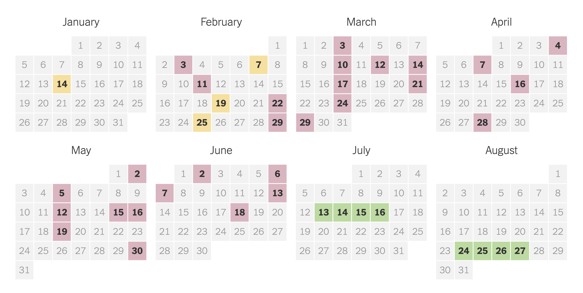 2020 Presidential Primary Election Calendar – The New York Times With Regard To Nc Court Federal Court Calendar