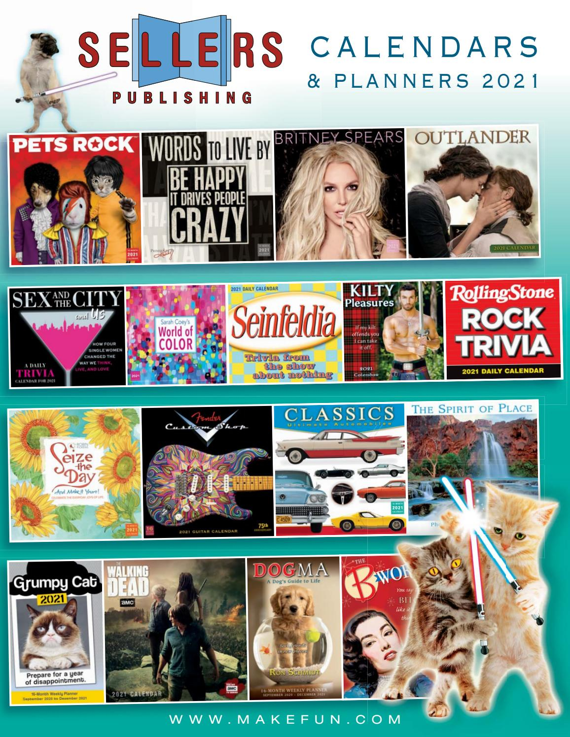 2021 Calendars From Sellers Publishingsellers Publishing Inside Nc Pick 3 2021 Calendar