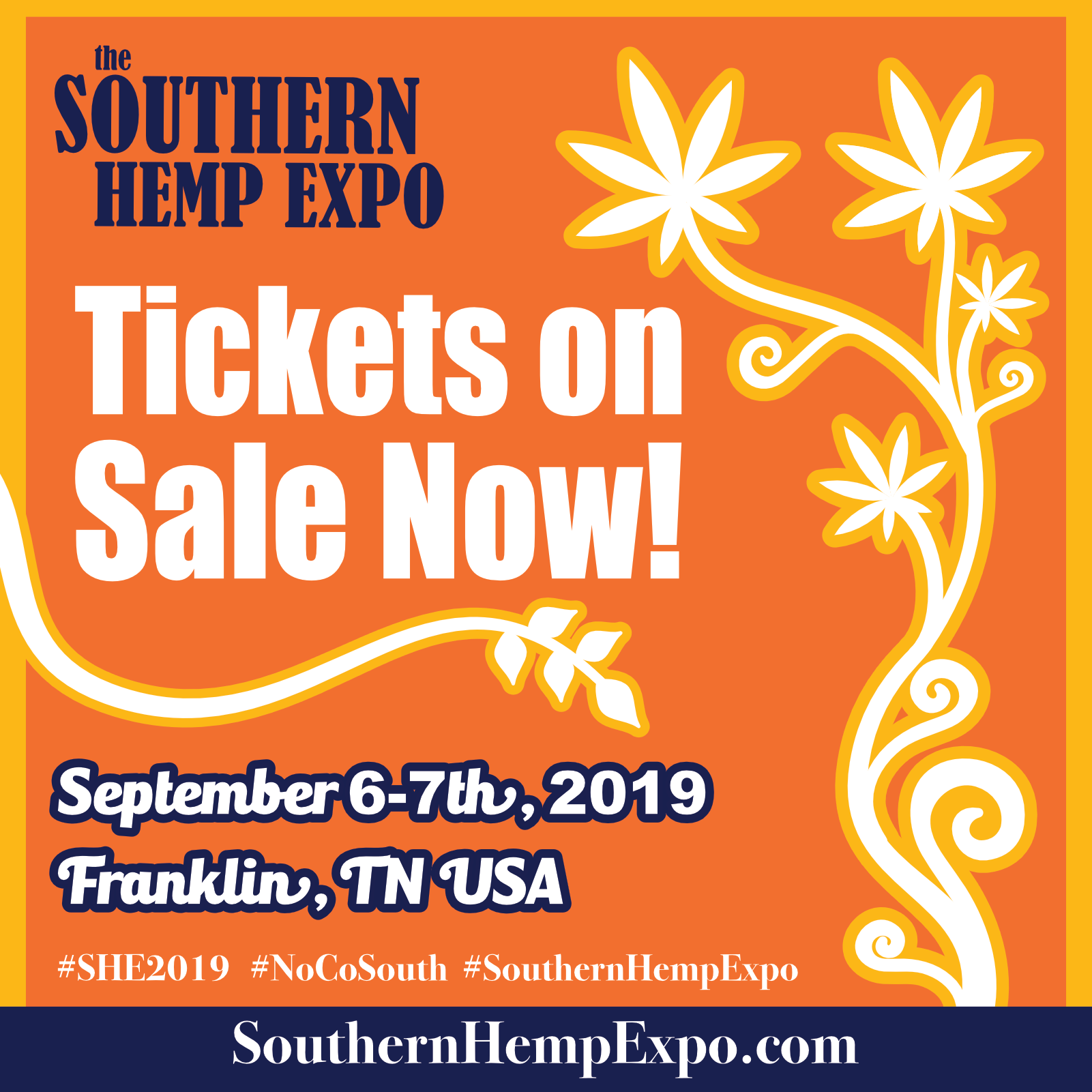 2Nd Annual Southern Hemp Expo – She2019 – Hempevents In Franklin Tn Calendar Of Events