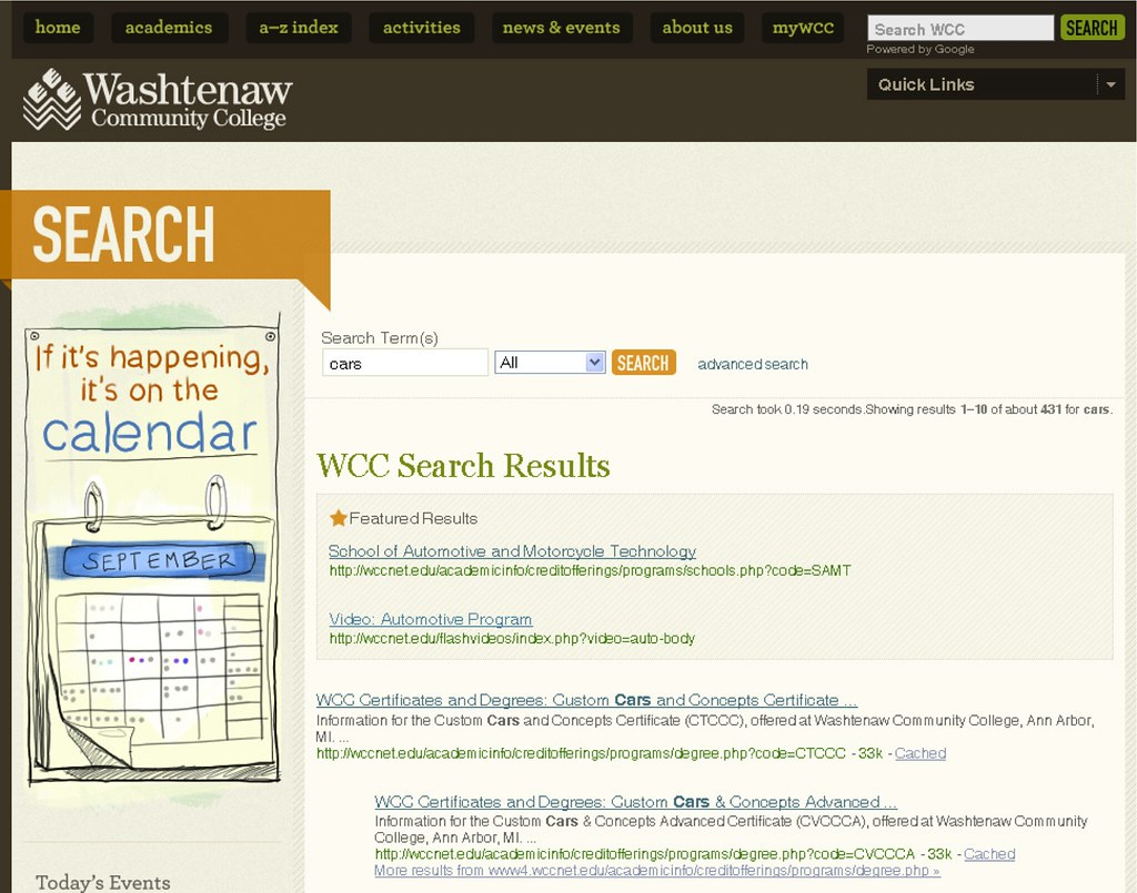 5 03. Search At Washtenaw Community College | Image From Sea In Washtenaw Community College Academic Calendar