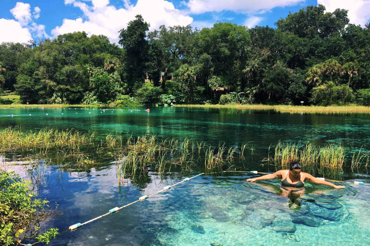 8 Of The Best Natural Swimming Spots In Central Florida Inside Lake County Florida Spring Break