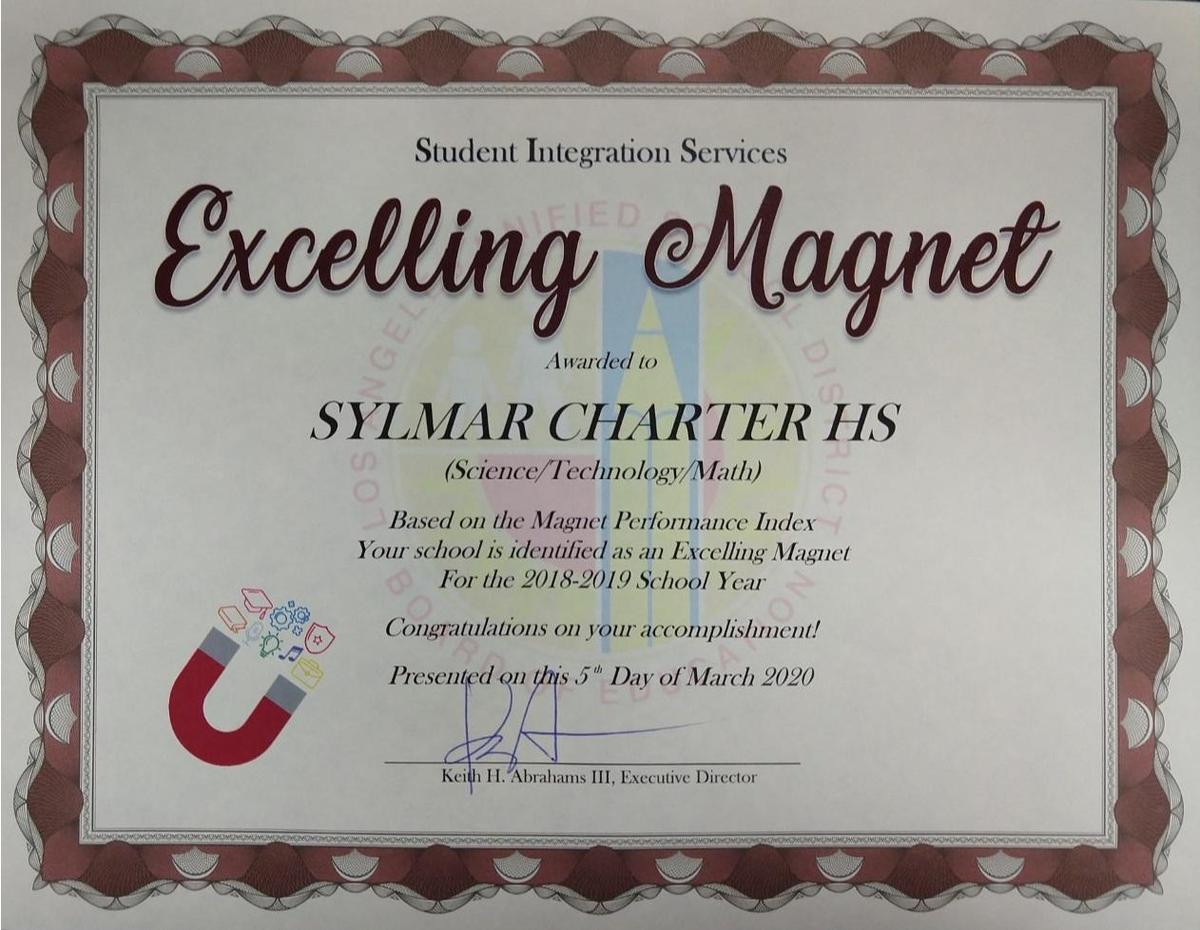 About The Sylmar High Stm Magnet – Science Tech Math Magnet Intended For San Fernando High School Spring Break Calendar