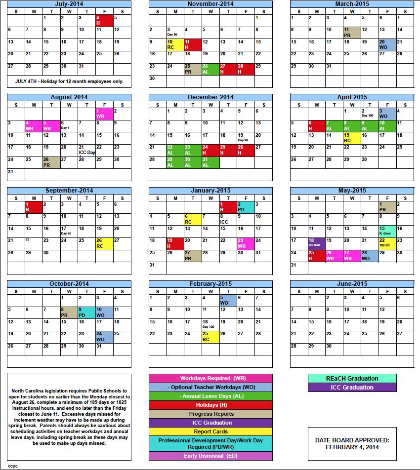 Academic: Academic Calander Pertaining To Alachua School Board Calendar