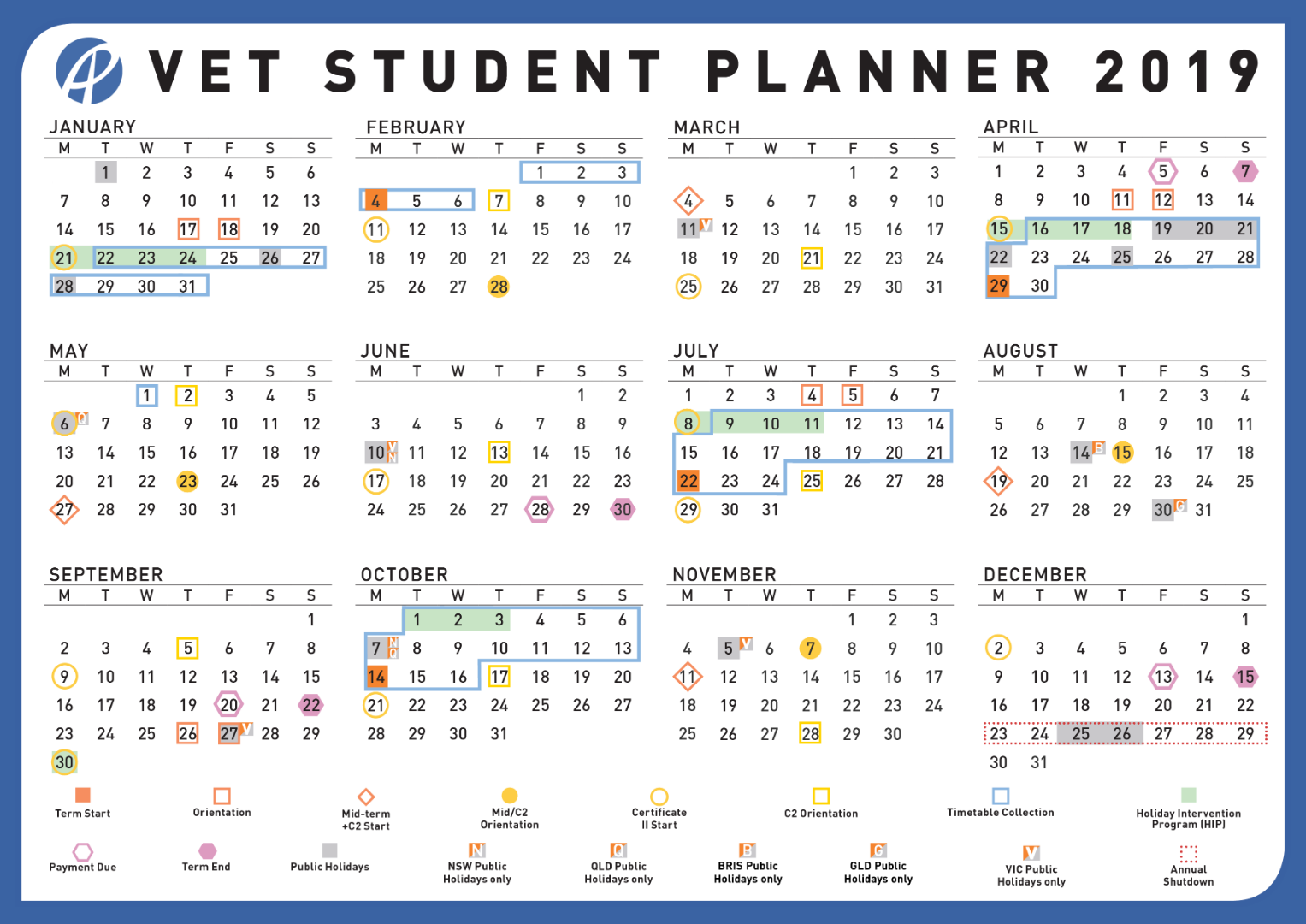 Academic Calendar | Australian Pacific College In University Of Melbourne Academic Calendar