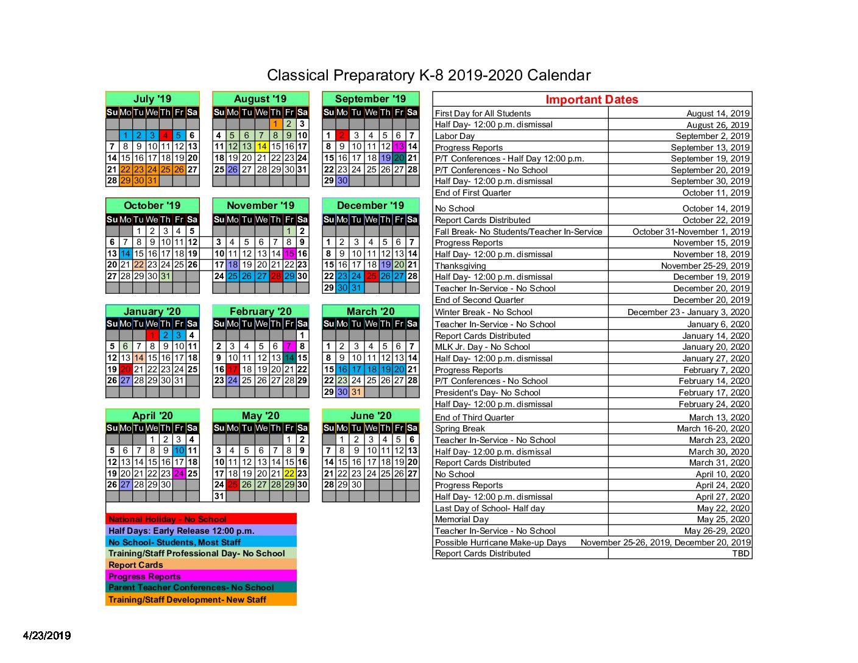 Academic Calendar – Classical Preparatory School Within St Petersburg College Academic Calendar 2021
