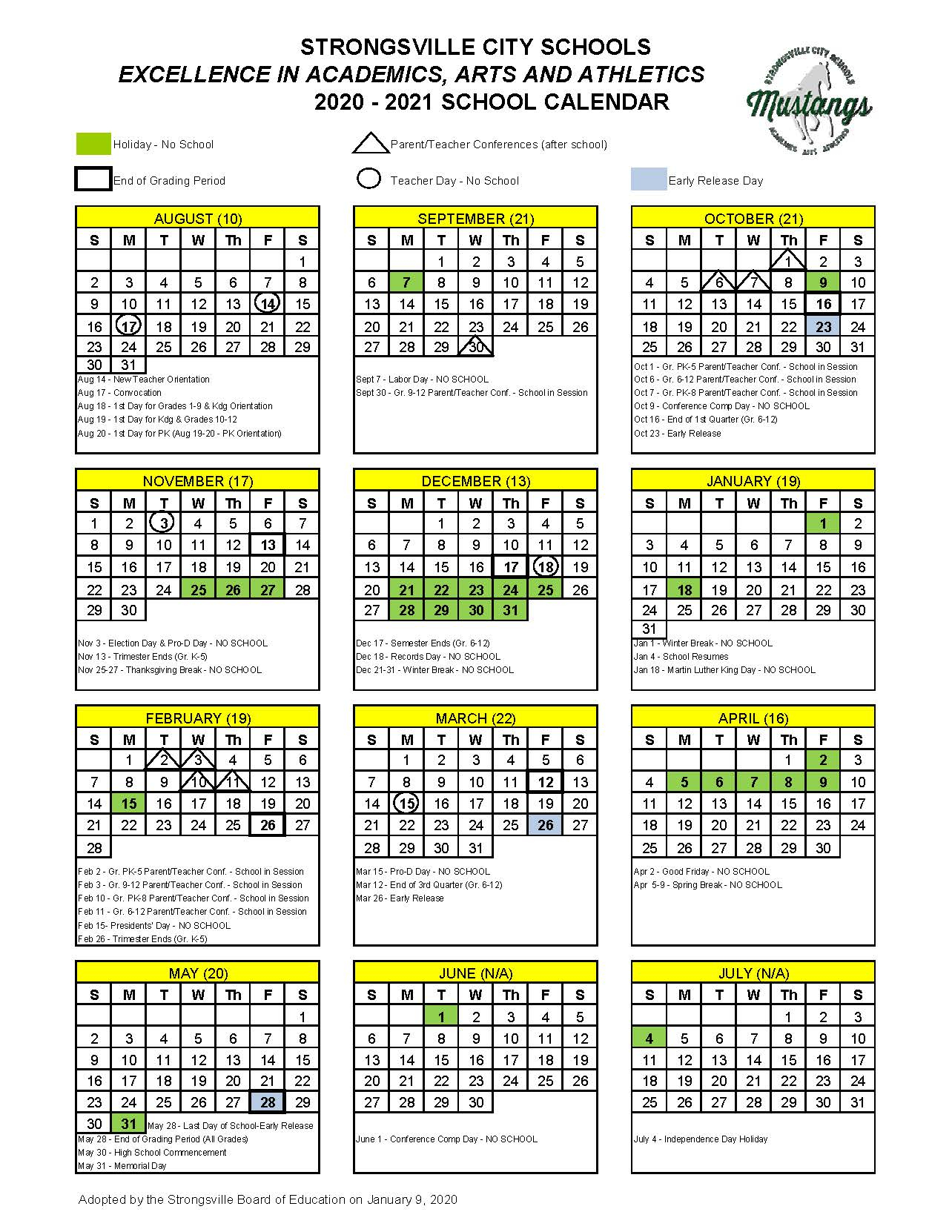Academic Calendars / Calendar 2020 2021 In Case Western Reserve University Academic Calendar