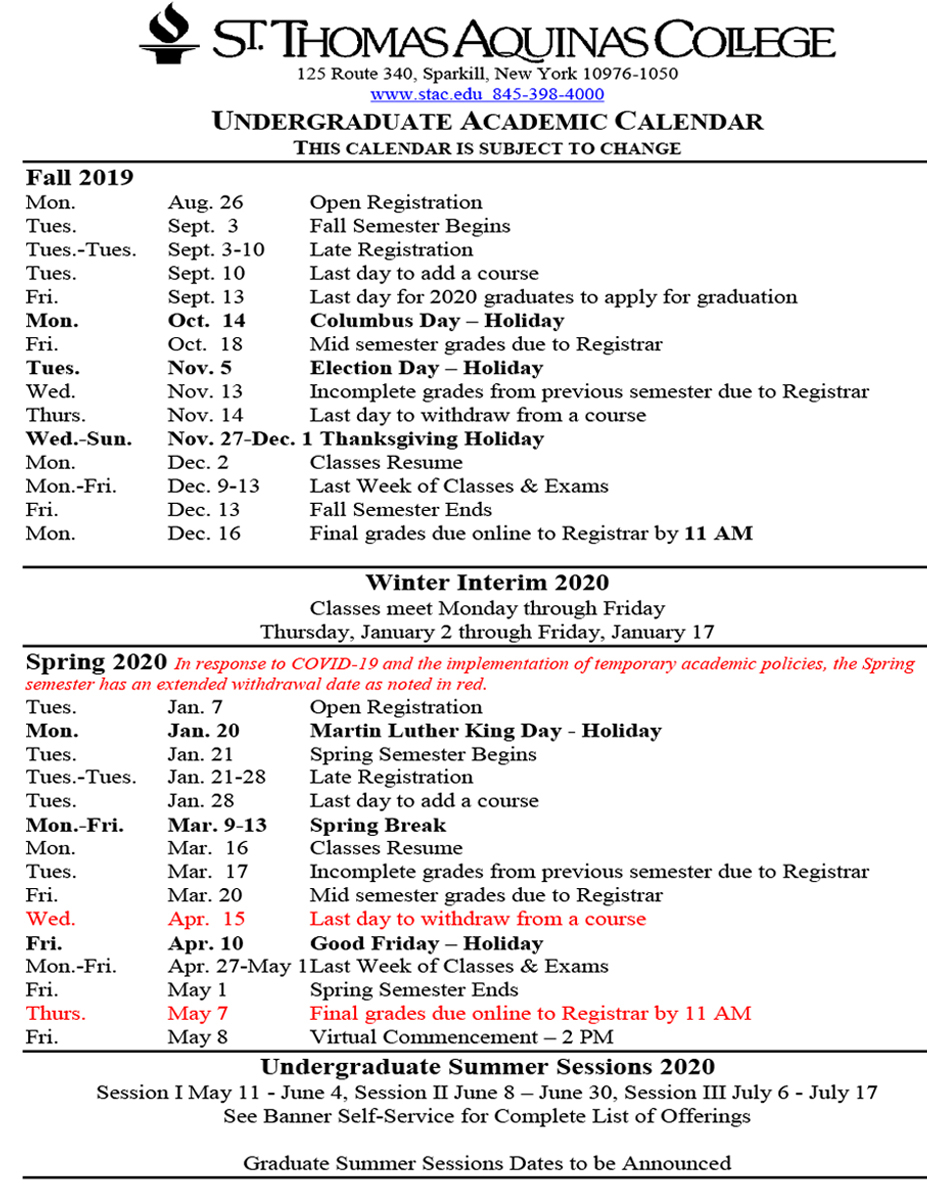 Academic Calendars Throughout Cllege Of Staten Island Calendar