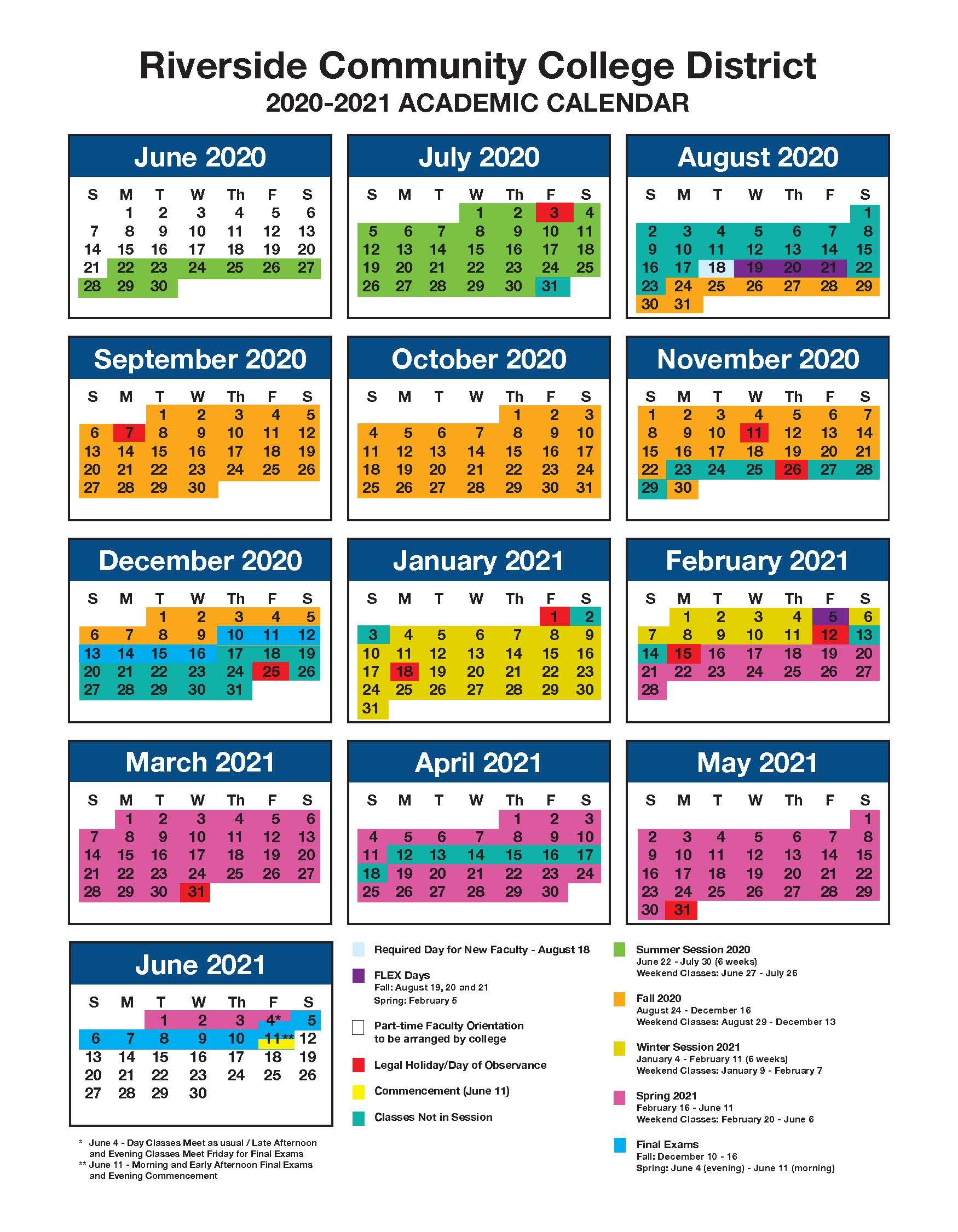 Academic Calendar Inside Temecula School District Calendar 2021