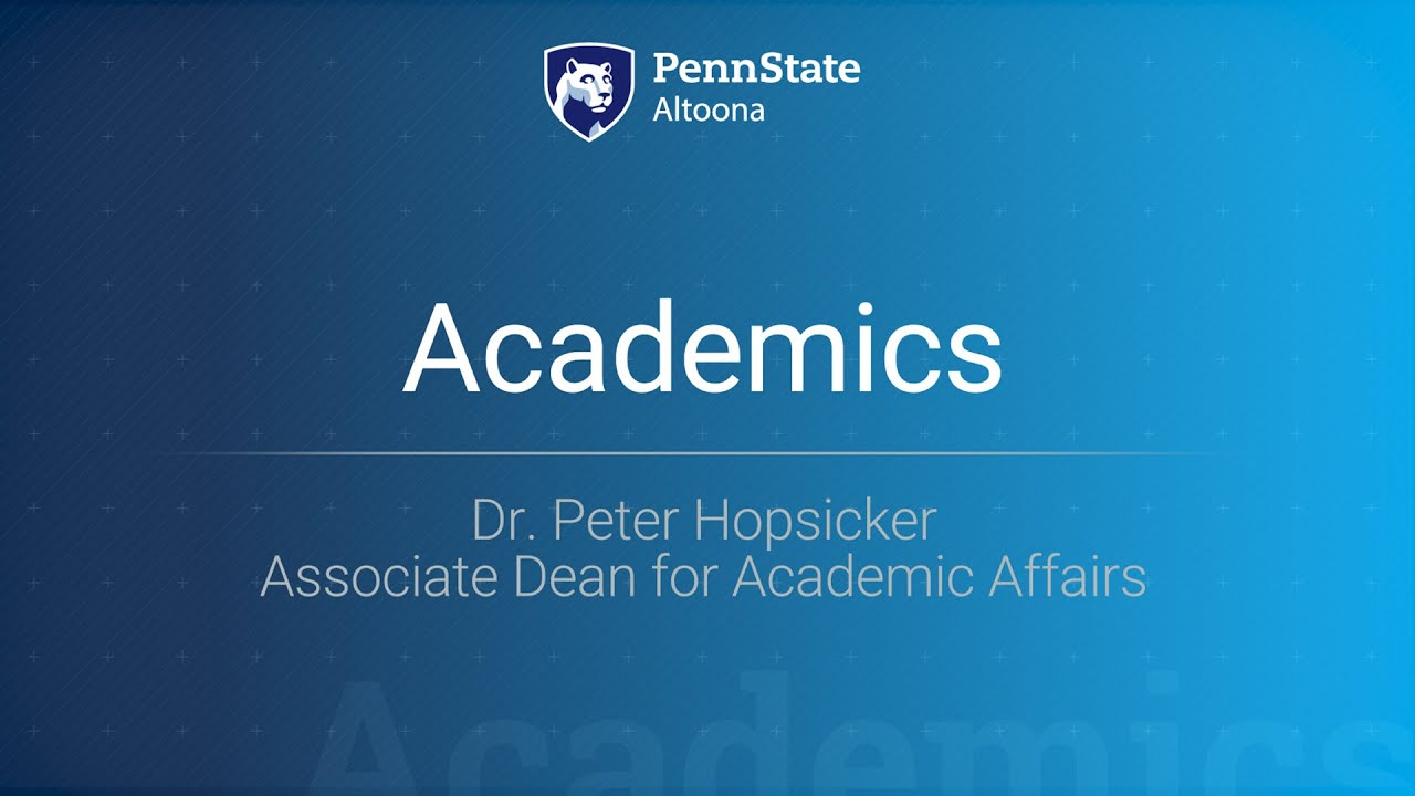 Academics At Penn State Altoona | Penn State Altoona Regarding Penn State Altoona School Calendar