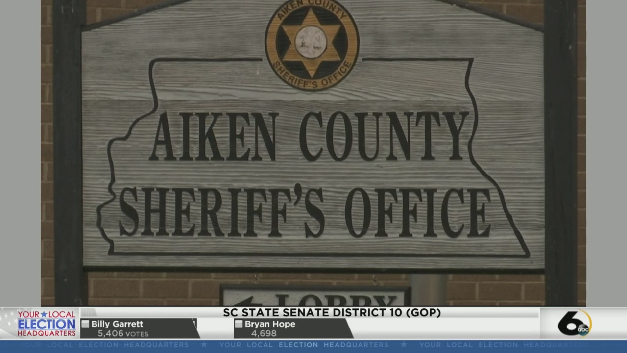 Aiken County Sheriff Michael Hunt Wins Reelection | Wjbf In Aiken County Scholl Calenda