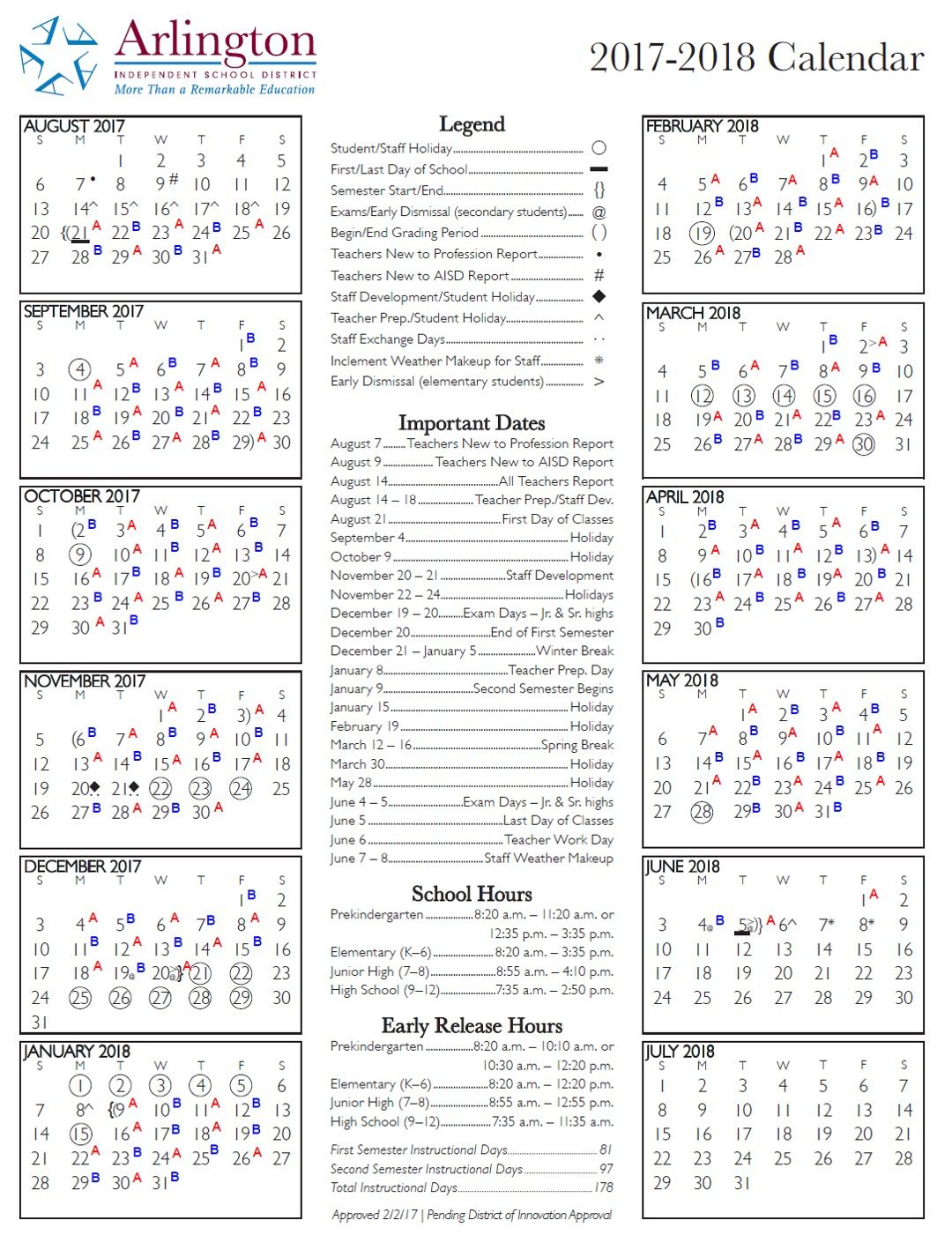 Aisd Calendar Arlington Texas – Slubne Suknie In Sam Houston Academic Calendar
