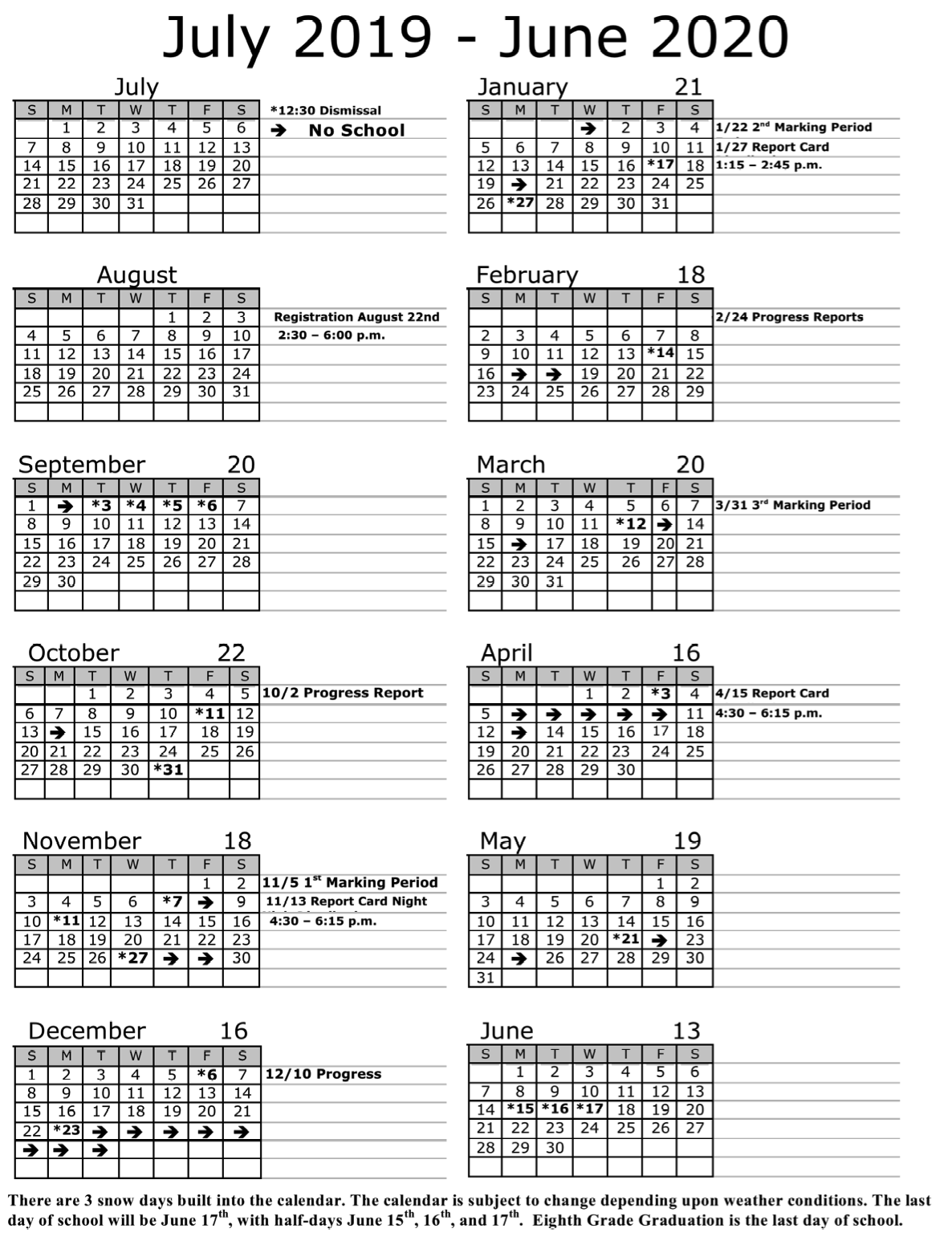 Annual Calendar | Soaring Heights Charter School Pertaining To Francis Lewis High School 2021 Calendar