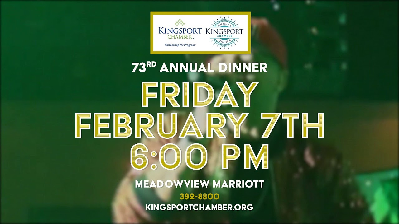 Annual Dinner – Kingsport Chamber , Tn Pertaining To Meadowview Convention Center Events Calendar
