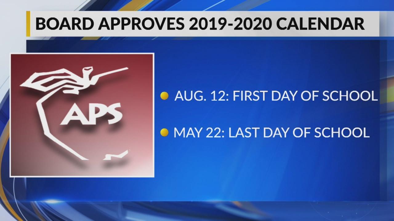 Aps Approves Calendar For 2019 2020 School Year Pertaining To Las Cruces Public Schools Las Cruces Nm Spring Break 2020