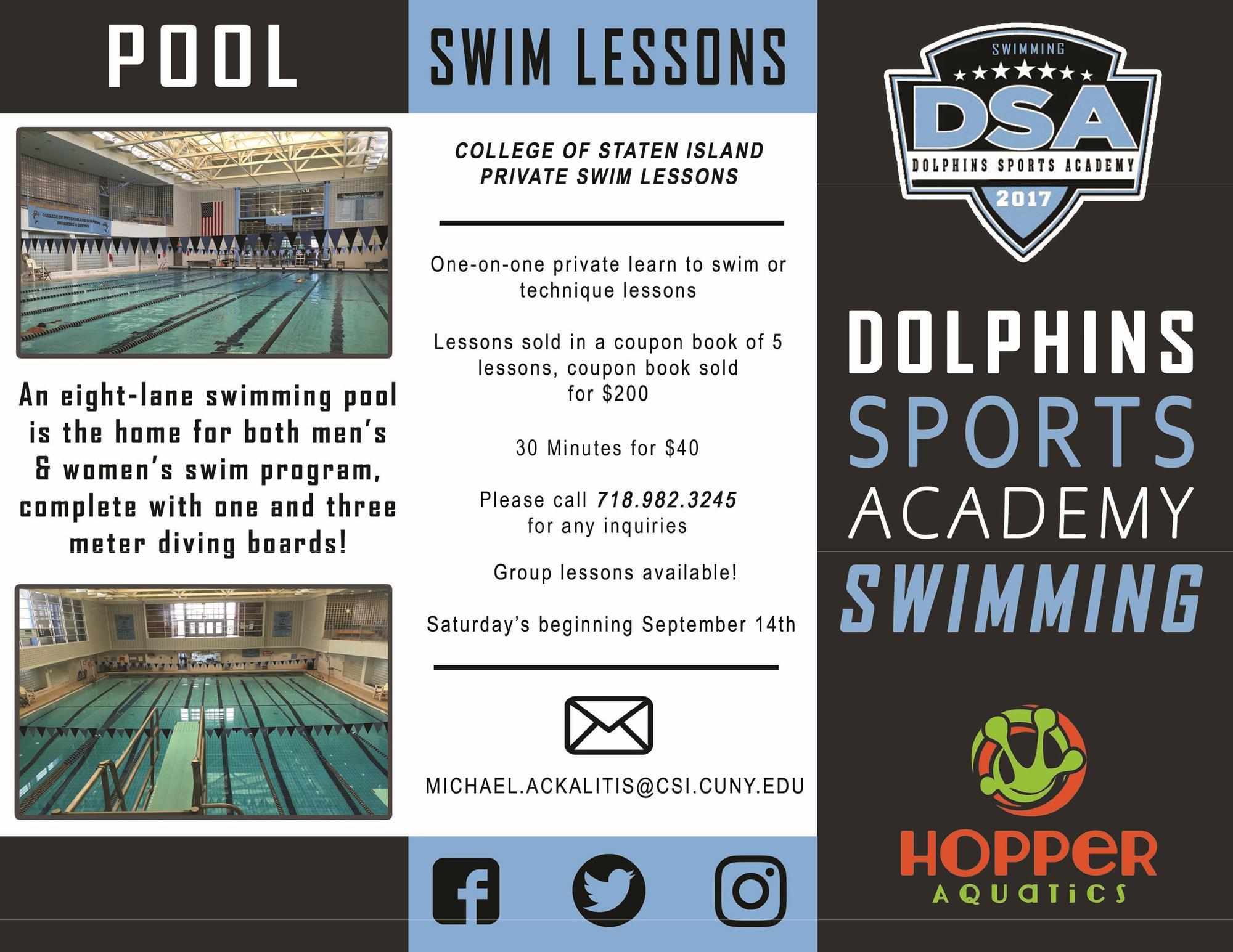 Aquatics Information – College Of Staten Island Athletics Throughout Cllege Of Staten Island Calendar
