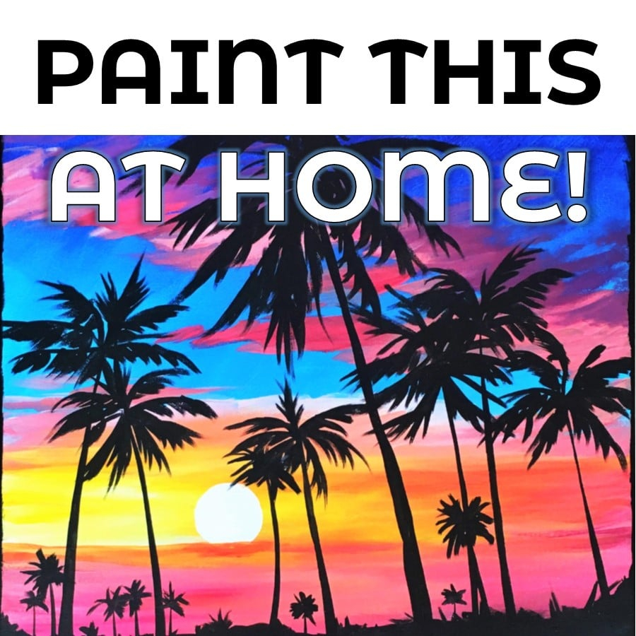Art At Home: California Sunset! Inside What Time Is Sunset In Zip Code 98446