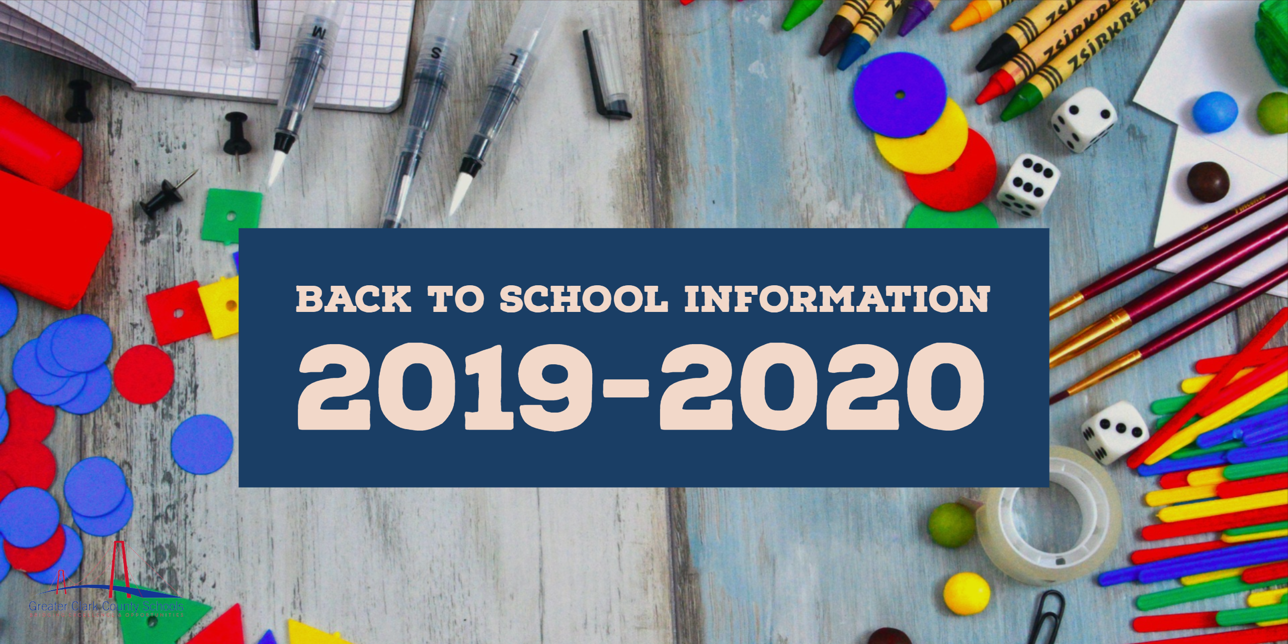 Back To School Information 2019 2020 – Greater Clark County Inside Monroe Clark Middle School Calendar