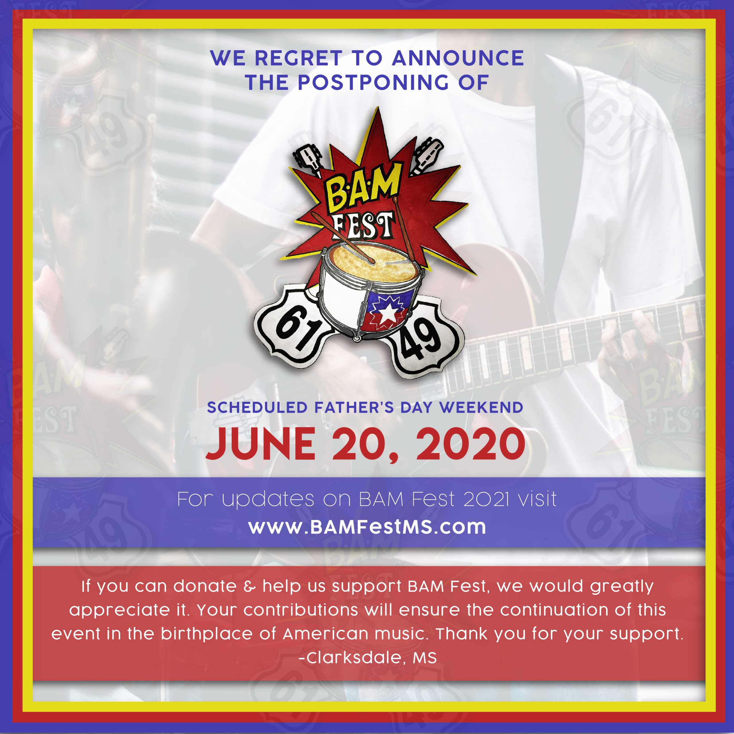 Bam Fest | Birthplace Of American Music Festival Pertaining To Blues Alley Schedule 2021
