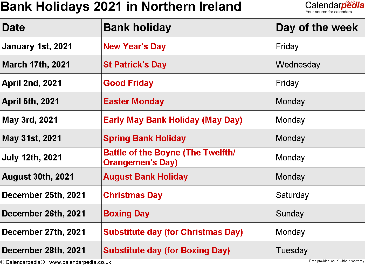 Bank Holidays 2021 In The Uk, With Printable Templates Intended For Canton Trade Days Calendar 2021