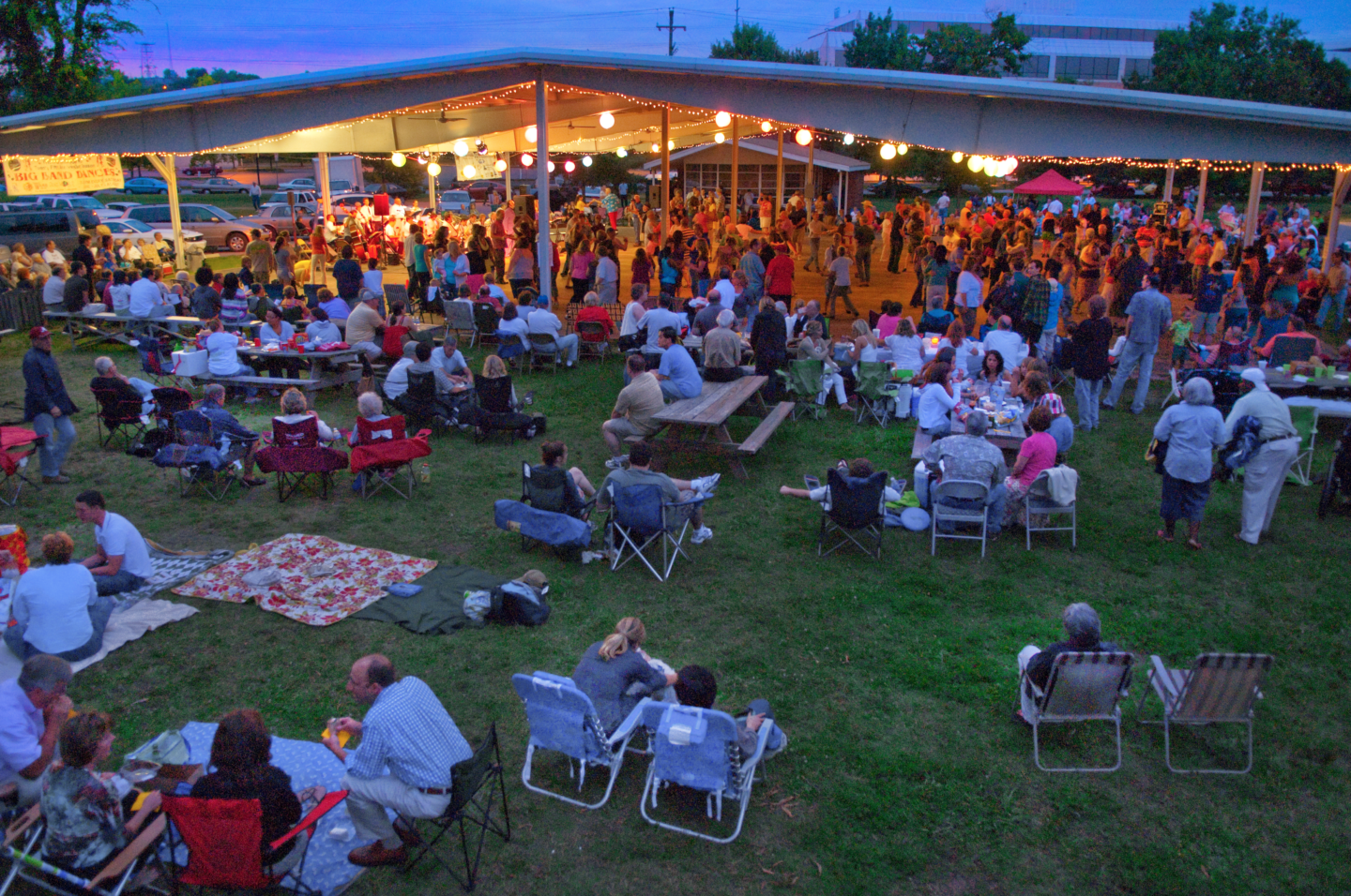 Big Band Dance At Centennial Park | Nashville Guru Regarding Centennial Park Nashville Events