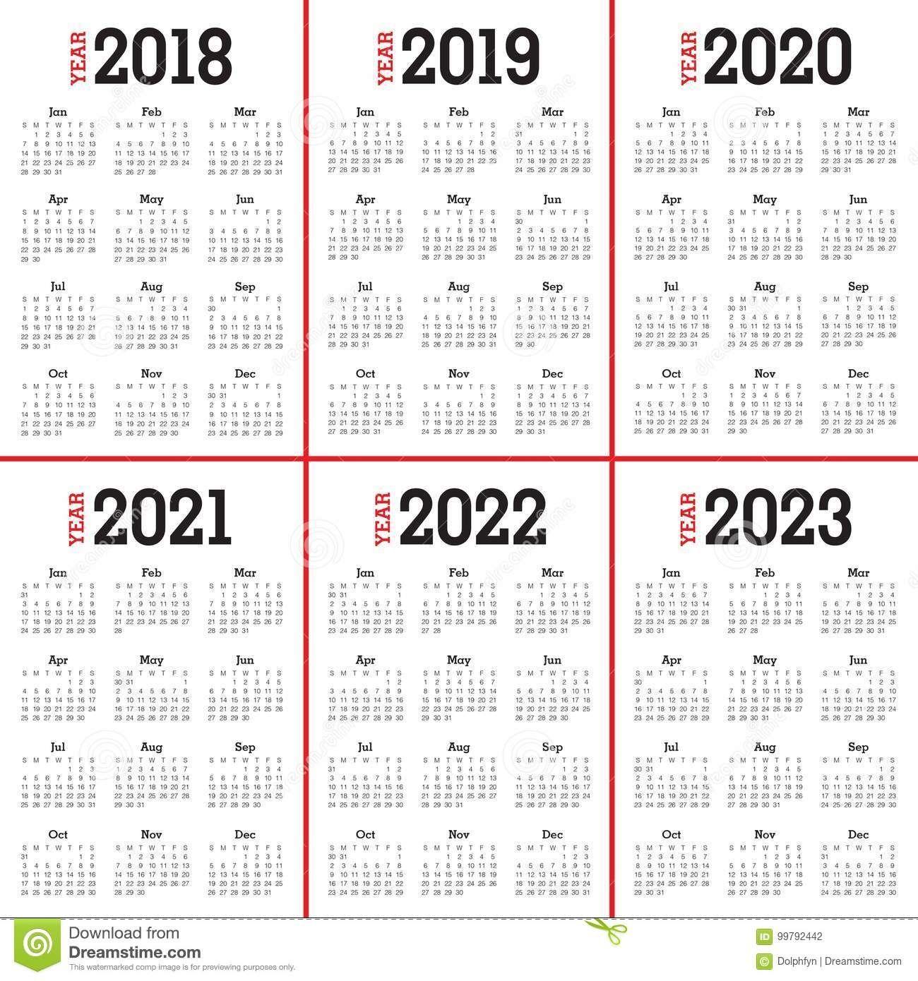 Bilderesultat For 5 Year Calendar (Med Bilder) In Editable 2021 Elf Calendar