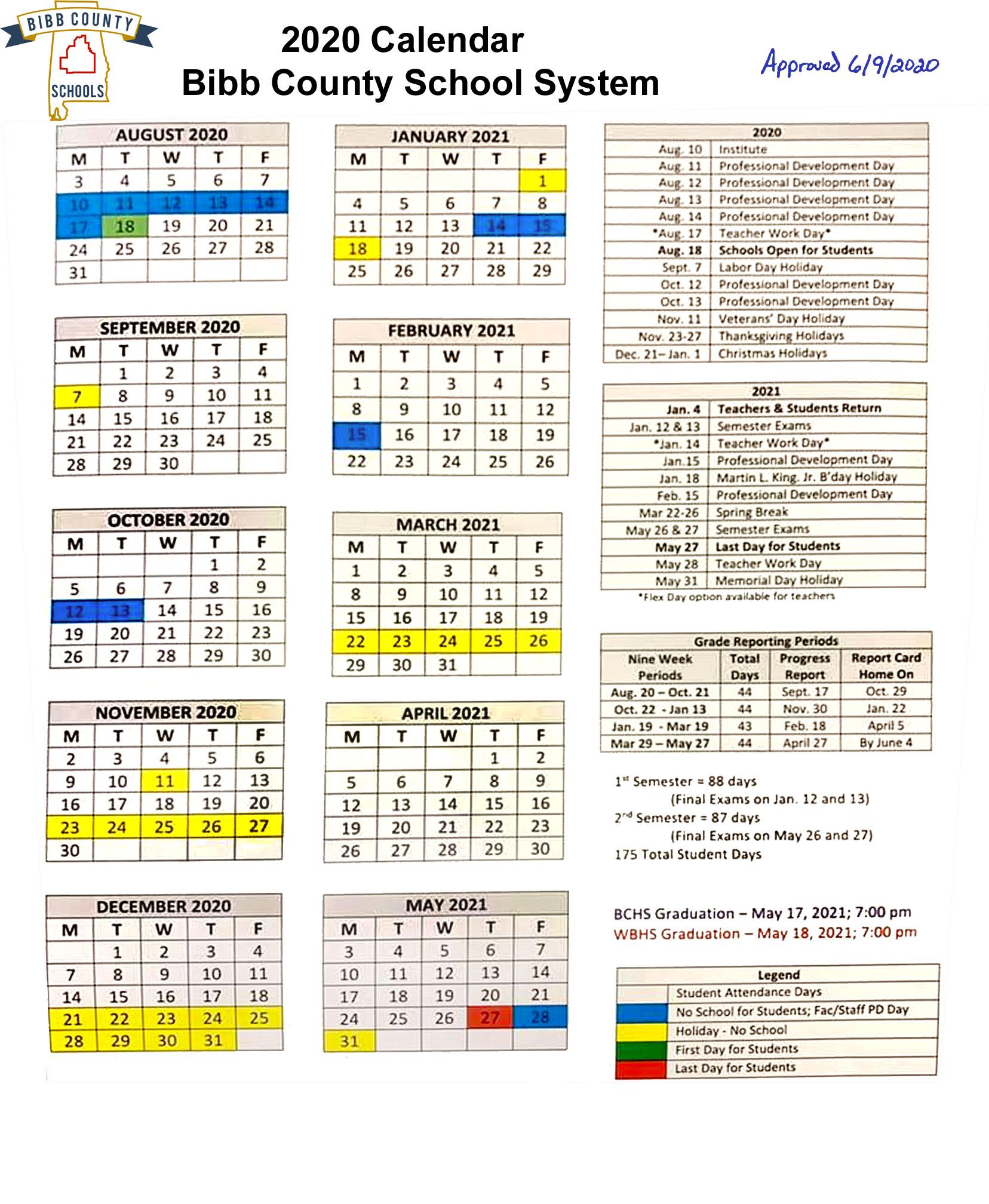 Board Of Education Approves Amended Calendar | The Bibb Voice In Bibb County Board Of Eduacation Calendar