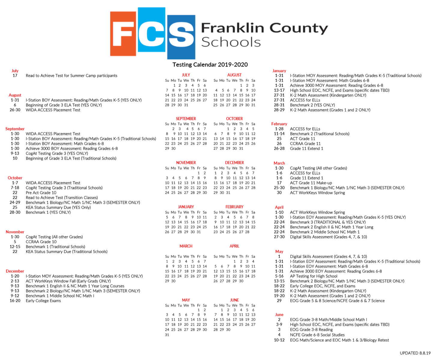 Board Of Education / Calendars Approvedthe Board Within Wake County Track 4 Calendar