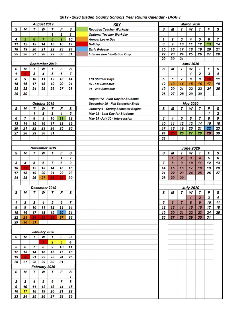 Board Of Education Studying Modified Year Round Calendar In Board Of Education Calendar