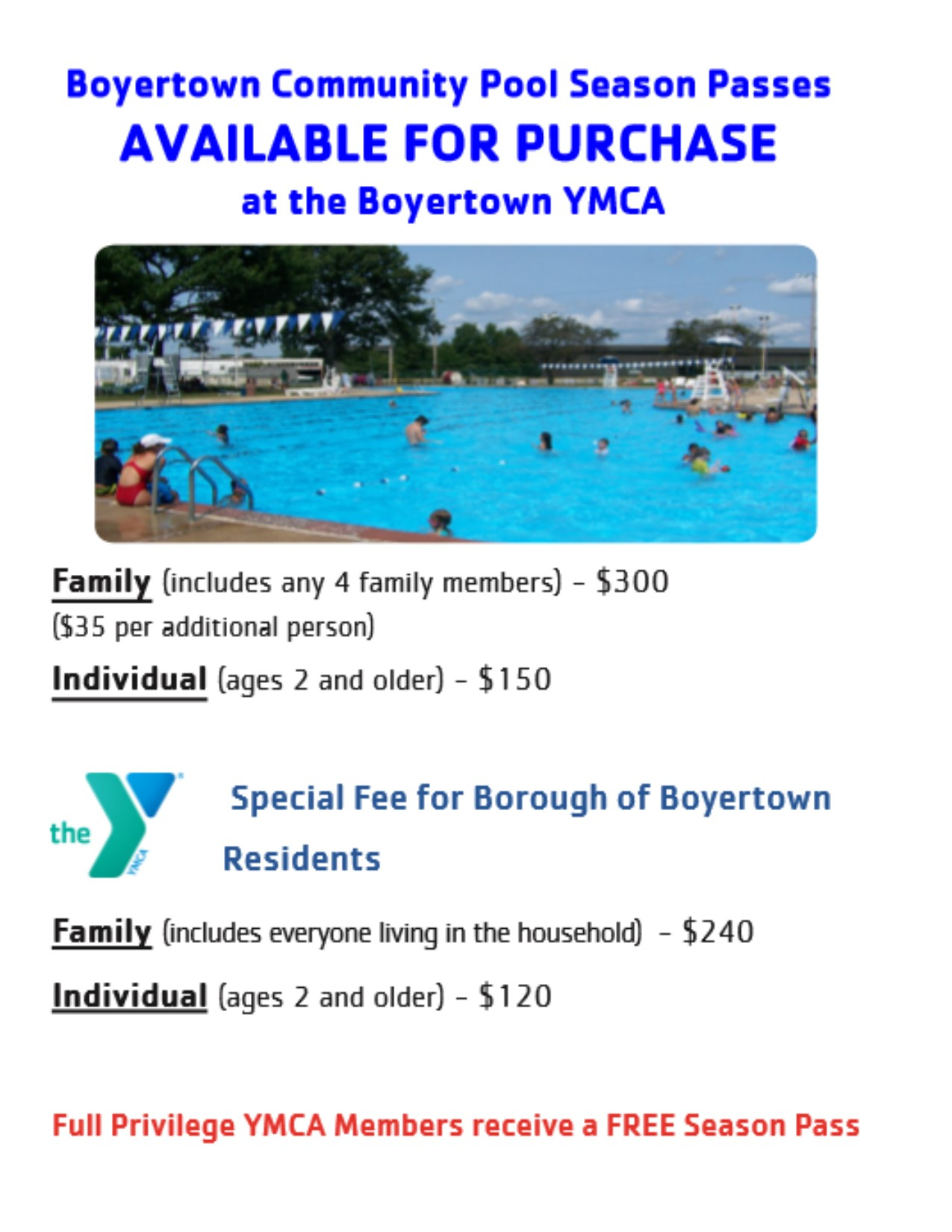 Boyertown Community Pool Opens! – Greater Philadelphia Ymca Inside Boyertown School Calander