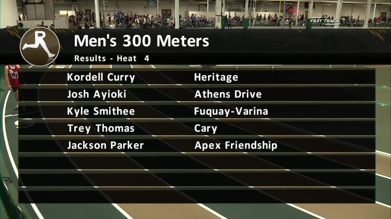 Boys 300M Section 1 – Wake County Distance Classic 2017 Intended For Wake County Track 4