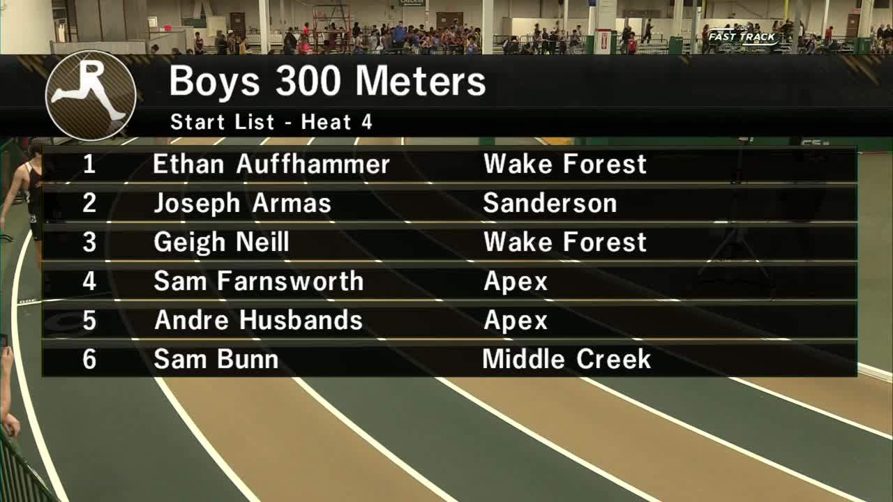 Boys 300M Section 4 – Wake County Invitational #1 2019 Regarding Wake County Track 4