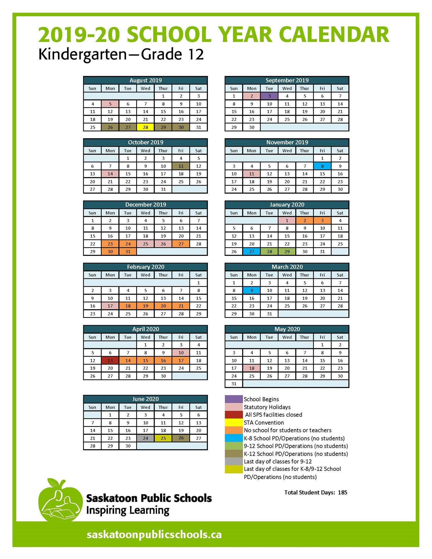 Calendar - Bedford Road Collegiate With Bedford Central School Calendar