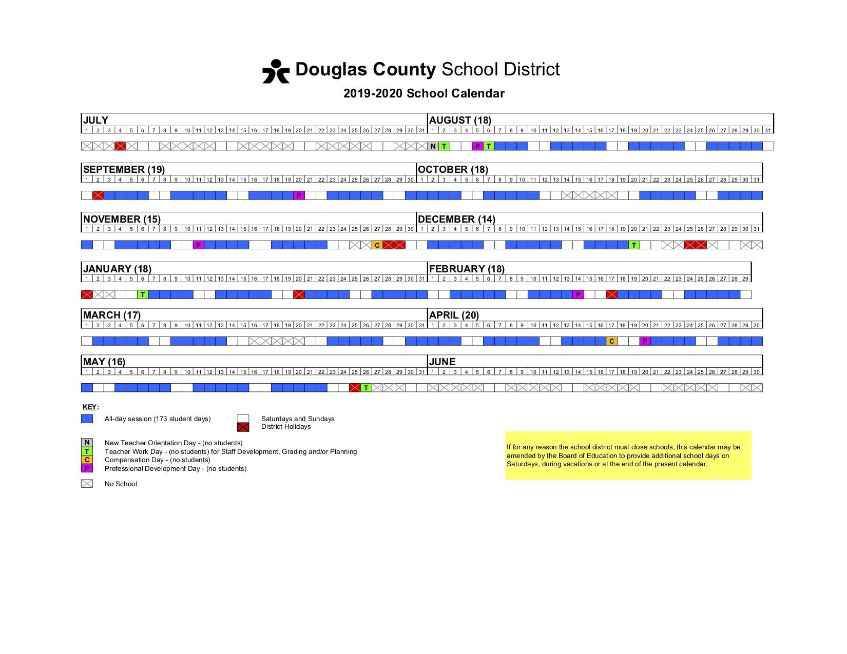 Calendar – Prairie Crossing Elementary Within Jefferson County Colorado Schools Calendar