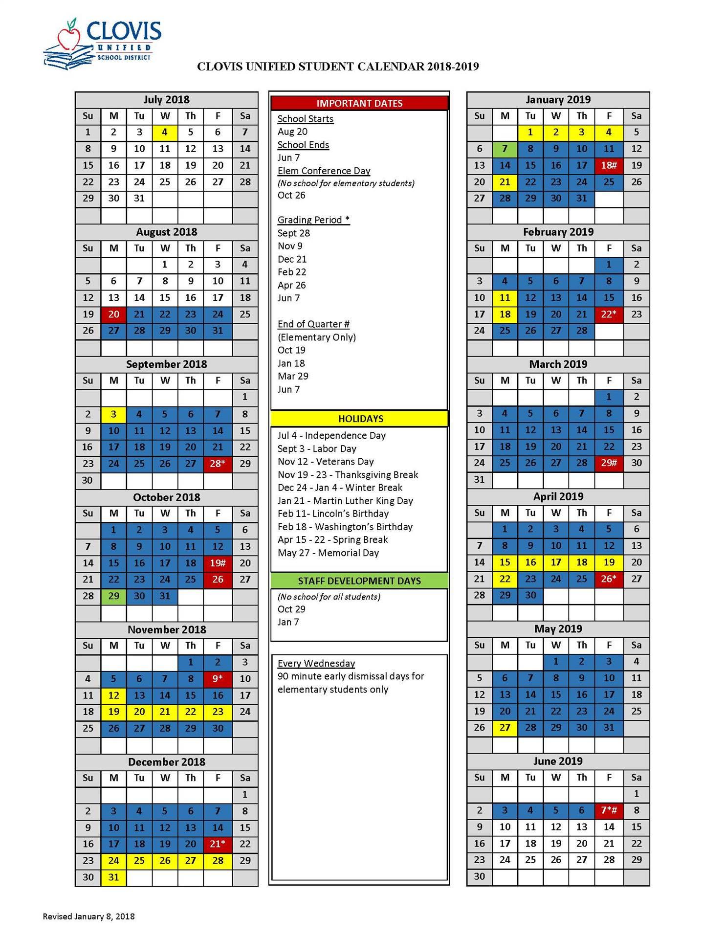 Calendar With Oak Mountain High School Calendar